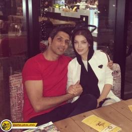 اینستاگرام گردی : سپهر حیدری و همسرش در شب سالگرد ازدواج