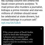 ادبیات کم سابقه در روزنامههای اصلی آمریکا برای رهبران سعودی