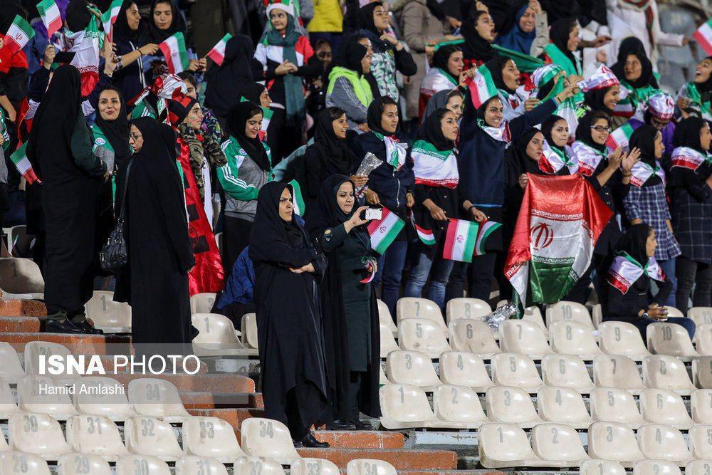 رئیس فدراسیون فوتبال: حضور بانوان در استادیوم حق شناخته شدهای است