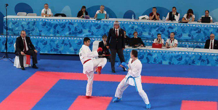 نوید محمدی در وزن ۶۸+ کیلوگرم اولین مدال طلای تاریخ کارته ایران در المپیک را کسب کرد.