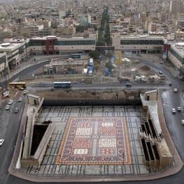 بزرگترین فرش سرامیکی جهان/تبریز