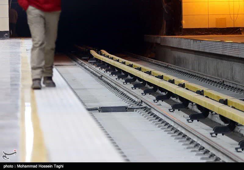 خودکشی مرد ۶۰ ساله در مترو علم و صنعت تهران