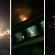در پی برخورد قطار با برگزار کنندگان آیین مذهبی هندوها در شمال هند، بیش از ۵۰ تن کشته شدند.