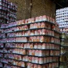 کشف انبار دپوی رب گوجه و مواد غذایی در البرز