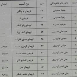 سخنگوی سازمان اورژانس کشور: روز گذشته بر اثر تصادف اتوبوس زائران ایرانی با سواری در نزدیکی حله عراق ١٣ نفر مصدوم شدند