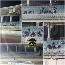تصاویر: حضور بانوان در بازی لیگ دسته یک در خرمشهر