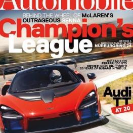 جدیدترین نسخه از مجله مشهور #اتومبیل  Automobile