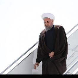 رئیس جمهور وارد فرودگاه خوی شد
