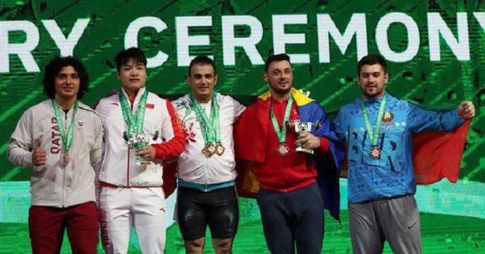 فدراسیون جهانی وزنهبرداری، نام سهراب مرادی را به فهرست جدید رکوردداران جهان وارد کرد