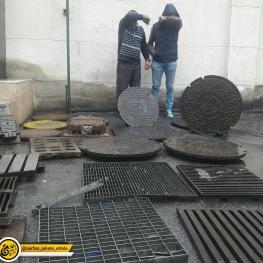 دستگیری دریچه دزدان توسط کلانتری ۱۵۳ شهرک ولیعصر پلیس پیشگیری پایتخت