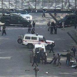 انفجار در نزدیکی تظاهرات شماری از دانشجویان در کابل افغانستان ۸ کشته برجای گذاشت.
