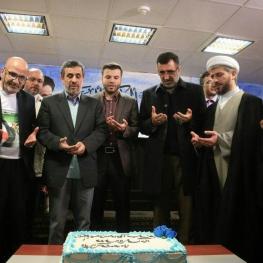 تصویر: جشن تولد اسفندیار رحیم مشایی!