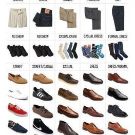 چه شلوار، با چه جوراب و کفشی؟
