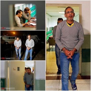 تصاویری از لحظاتی پیش از اجرای حکم اعدام وحید مظلومین و محمد اسماعیل قاسمی