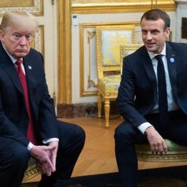 دولت فرانسه: رئیسجمهورآمریکا به جای انتقاد از رئیس جمهور ماکرون، بایستی قدری «نجابت» نشان میداد