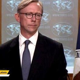 برایان هوک: ما مجبور بودیم معافیتهایی را برای هشت کشور در نظر بگیریم