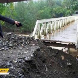 تخریب سد بتونی روستای خالکایی ماسال