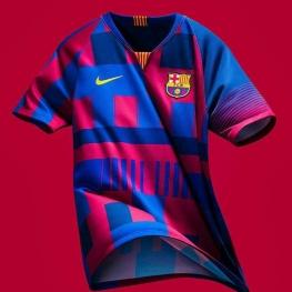 رونمایی کمپانی نایک از یک لباس جدید برای بارسلونا
