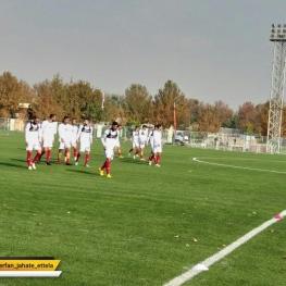 آخرین تمرین تیم ملی کشورمان پیش از سفر به قطر
