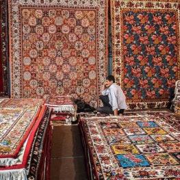 توقف صادرات فرش ایران به آمریکا