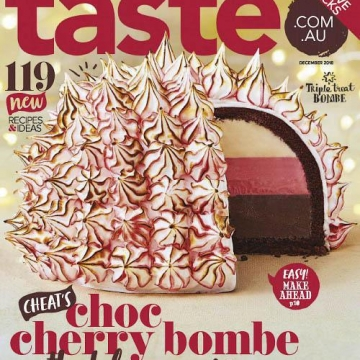 جدیدترین شماره از مجله مشهور #آشپزی Taste com au