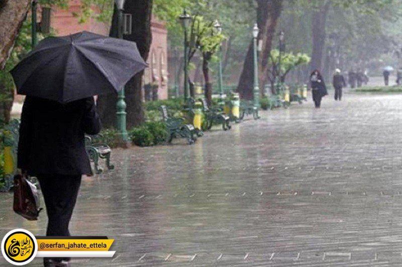 بارش باران وکاهش آلودگی هوای پایتخت ازفردا