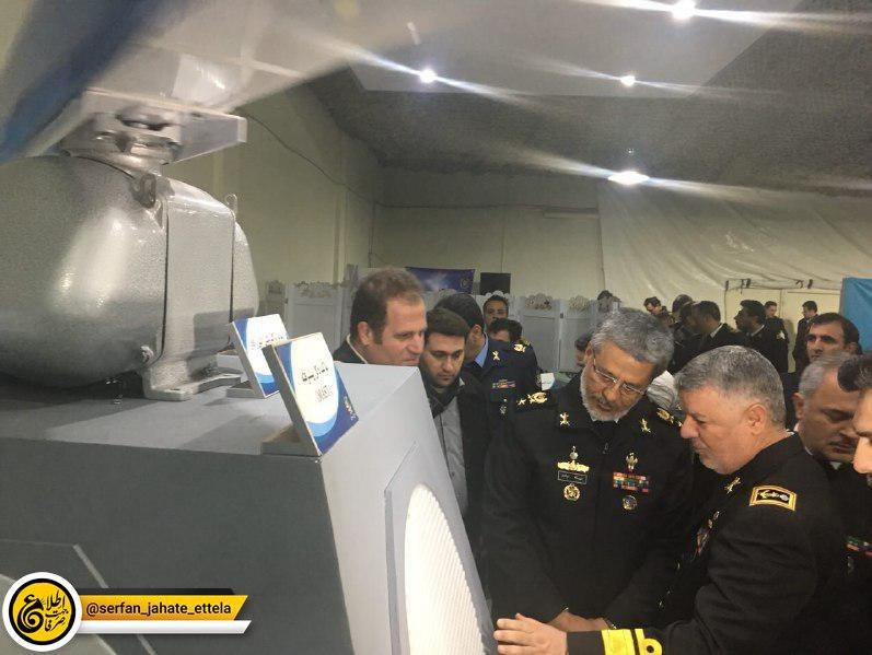 نمايشگاه توانمندیها و دستاوردهای فنی و تخصصی نيروی دريايی ارتش