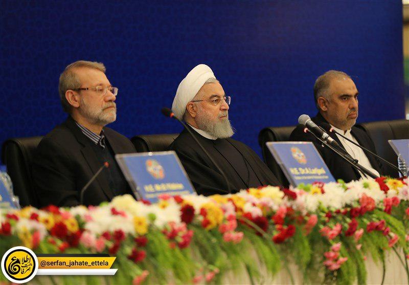 روحانی در اجلاس رؤسای ۶ کشور درباره مبارزه با تروریسم: