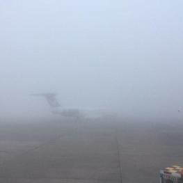 پروازهای فرودگاه مشهد به دلیل مه گرفتگی و کاهش دید افقی به حالت تعلیق درآمد.