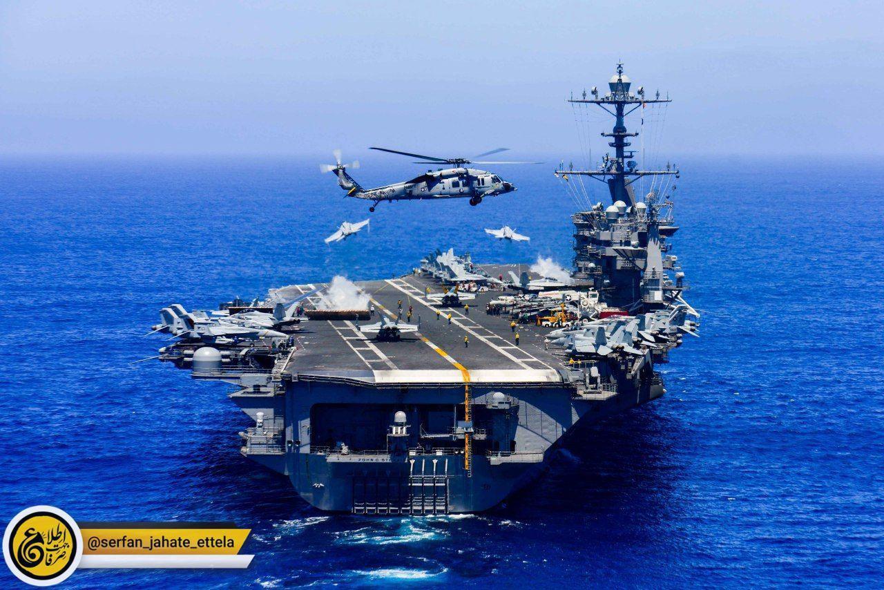 گروه ناوهای هواپیمابر نیروی دریایی آمریکا که ناو John C. Stennis در رأس آن ها قرار دارد در روزهای نزدیک وارد خلیج فارس خواهند شد