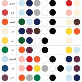 راهنمای ترکیب رنگی لباسها