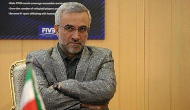 احمد ضیایی رئیس فدراسیون والیبال استعفا کرد