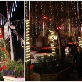 تصویر روز: حال و هوای مناطق مسیحی نشین دمشق (پایتخت سوریه) در آستانه کریسمس