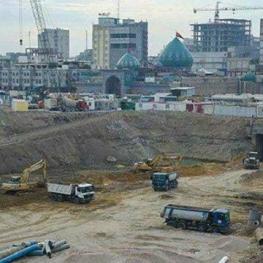 ساخت بزرگترین زیرگذر کربلا به دست ایرانیها