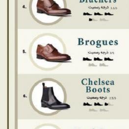 راهنمای کفش مردانه؛ از راحتی تا کژوال
