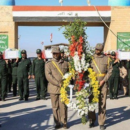ورود پیکر ۷۲ شهید دوران دفاع مقدس به کشور صبح امروز