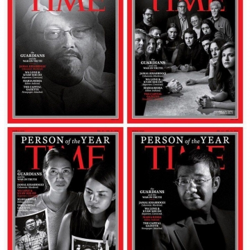خاشقجی شخصیت سال مجله تایم شد