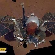 نخستین سلفی اینسایت در مریخ