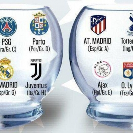 قرعه کشی مرحله ١/٨ نهایی لیگ قهرمانان اروپا , دوشنبه هفته آینده