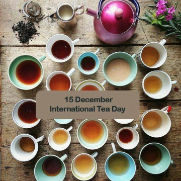 ۱۵ دسامبر، #روز_جهانی چای است