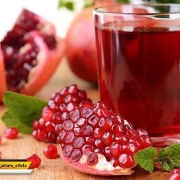 نوشیدن آب انار در فصل پاییز کلسترول را پایین آورده و باعث نشاط شما میشه.