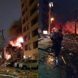 ۴۰ زخمی بر اثر انفجار رستورانی در ژاپن