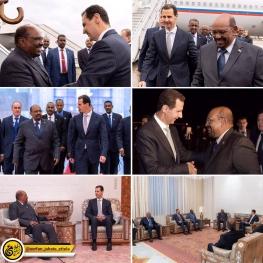اولین سفر رسمی یک رئیس کشور به سوریه بعد از ۸ سال