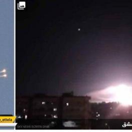 سامانههای پدافند هوایی سوریه ۴ موج حمله هوایی اسرائیل را دفع کردند