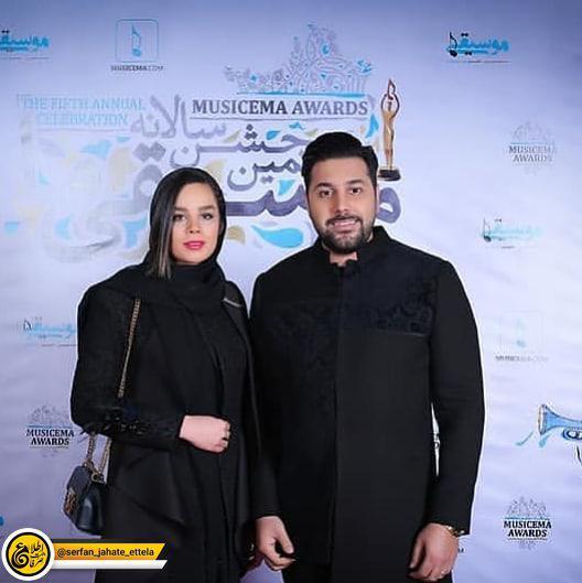 اینستاگرام گردی: احسان خواجه امیری و همسرش