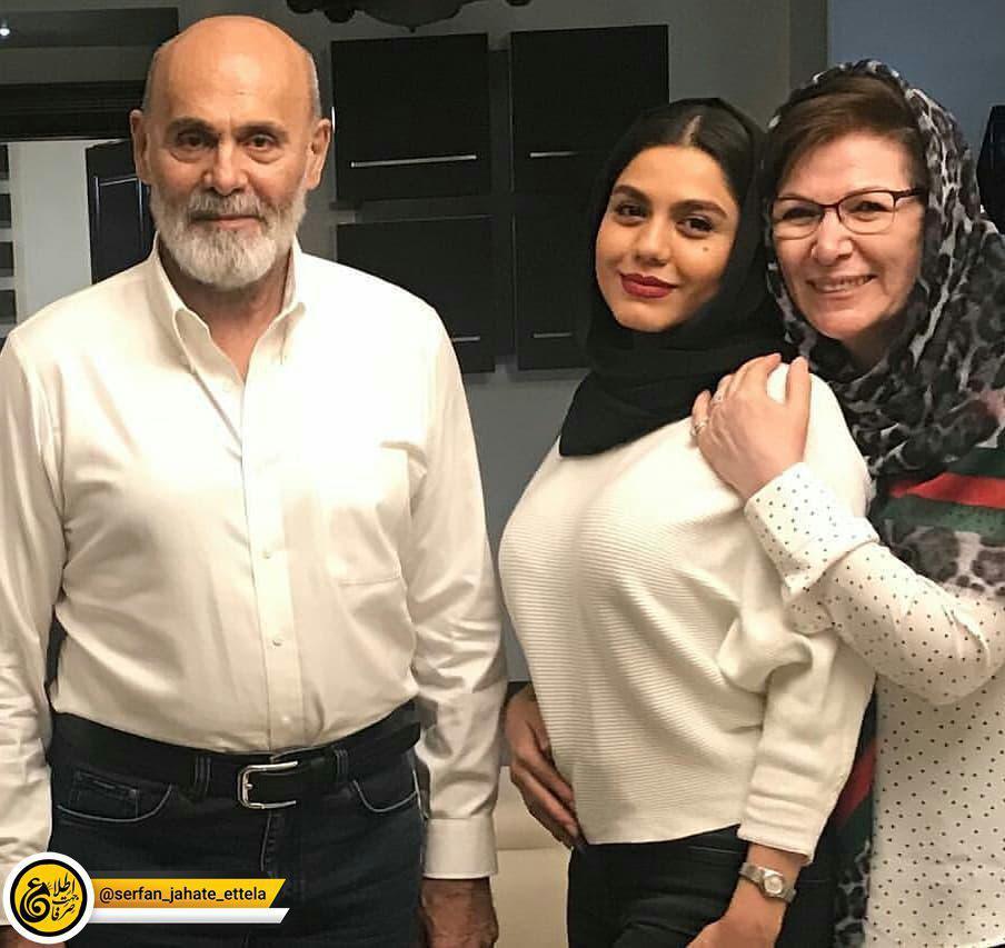 اینستاگرام گردی: جمشید هاشم پور و همسرش مهمان آزاده زارعی