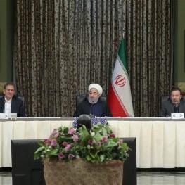 روحانی در نشست مشترک هیأت وزیران با استانداران سراسر کشور