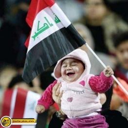 تصویری جالب از دیدار ایران و عراق