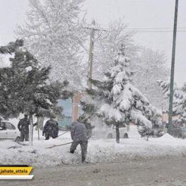 تداوم برف و باران در کشور/دمای تهران به زیر صفر میرسد