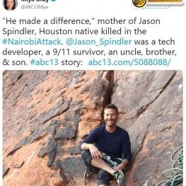 این مرد آمریکایی که توانسته بود در جریان حملات ۱۱سپتامبر به برجهای مرکز تجارت جهانی جان سالم به در ببرد